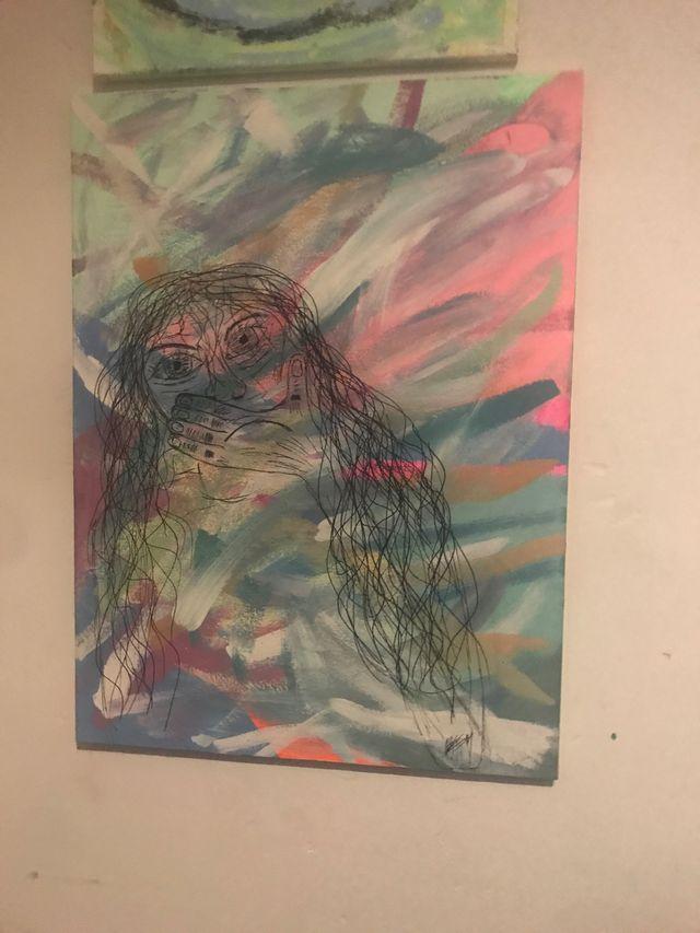 Hidden emotions painting