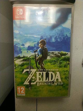 Zelda breath of the Wild cambio por Mario Bros