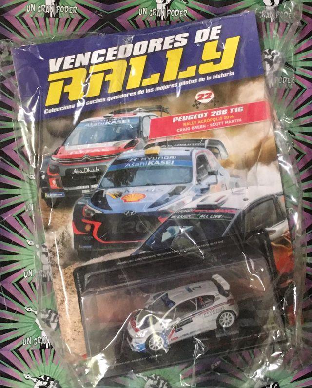 VENCEDORES DE RALLY PEUGEOT 208 T16