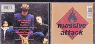 MASSIVE ATTACK BLUE LINES CD