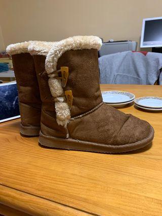 Botas para el invierno
