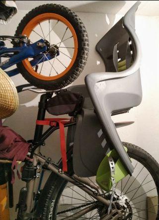sillita niños bicicleta