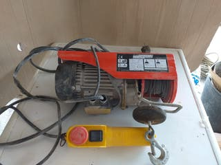 Polipasto eléctrico, 580W 125/250kg
