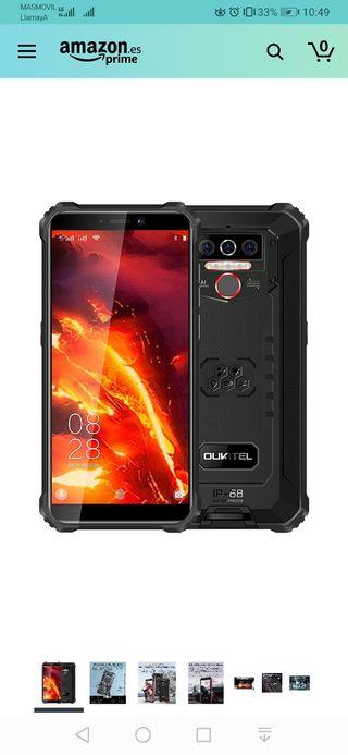 4G Teléfono Móvil Resistente OUKITEL WP5 Pro, Bate