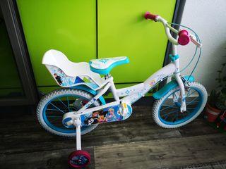 "Bicicleta 16""de Frozen"
