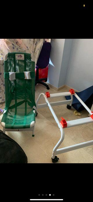 silla por discapacitado