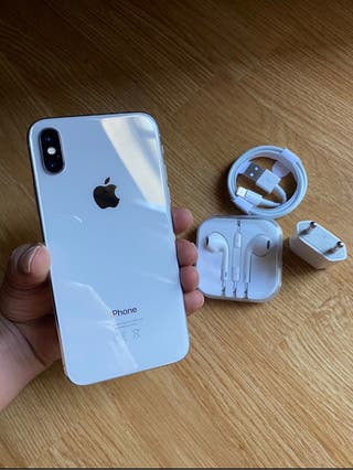iPhone X 64Gb Blanco COMO NUEVOFactura y Garantia