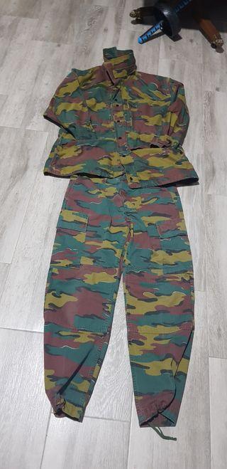 uniforme ejercito Belgica talla M