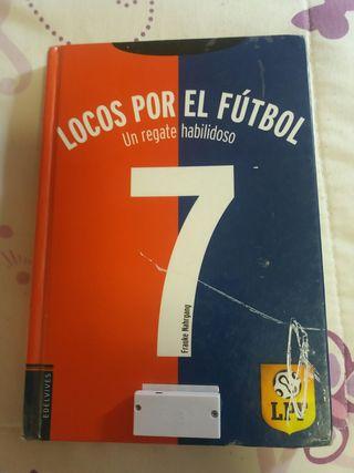 LIBRO .LOCOS POR EL FUTBOL.