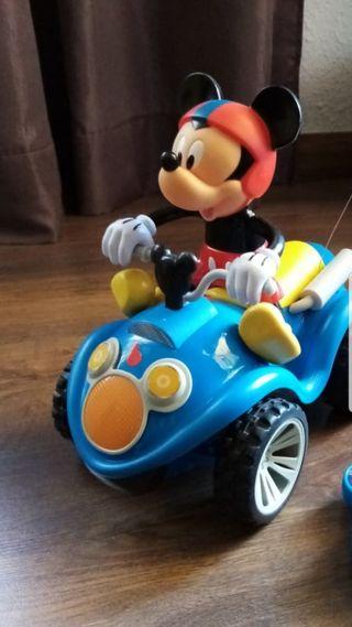 Coche teledirigido Mickey nuevo