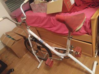 bicicleta estática BH retro
