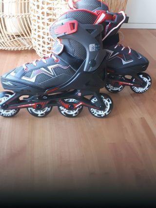 patines en línea 35-38 oxelo nuevos