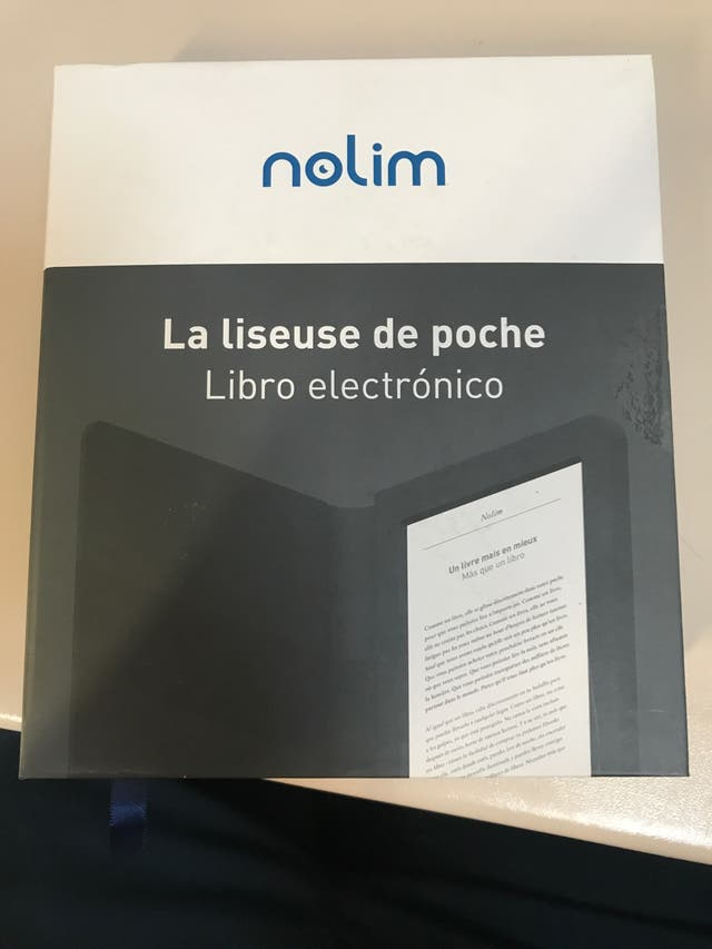 "Libro electronico nolim 6"""
