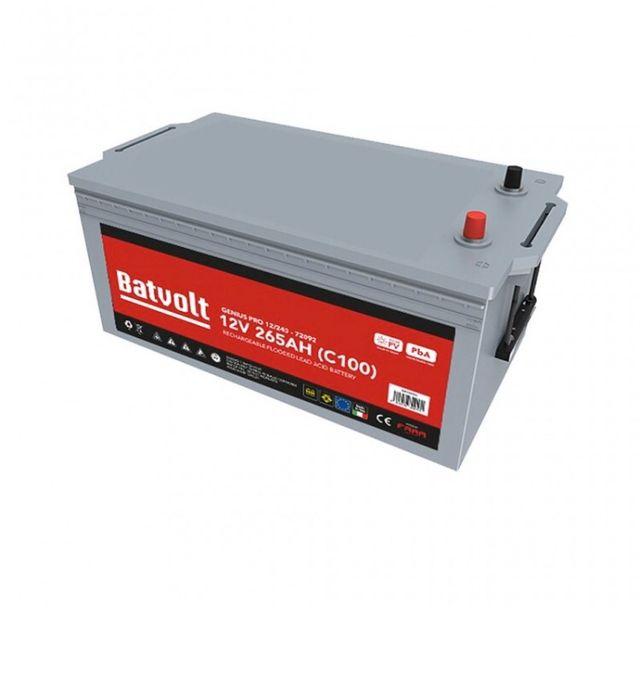 Batería monoblock sin mantenimiento 12V 264Ah C100
