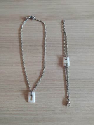 collar y pulsera LOTUS