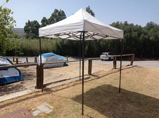 Carpa/Pérgola plegable 2x2 metros