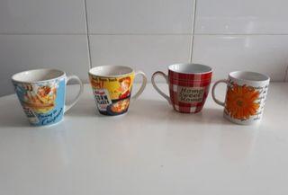 Lote 4 tazas