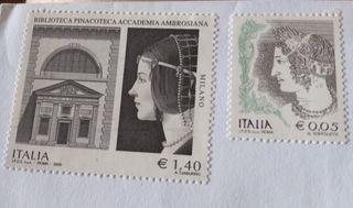 2 Sellos NUEVO Italia Roma 2009
