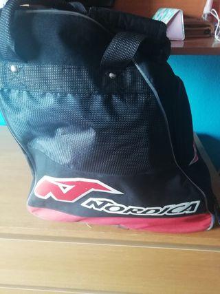 Botas esqui mujer con bolsa
