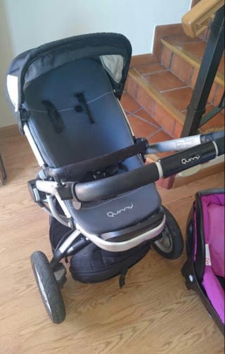Quinny buzz silla + capazo