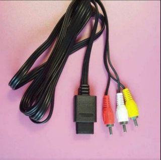 Cable Nuevo Tv Snes N64 Gamecube