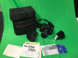 Cámara fotos Nikon F50