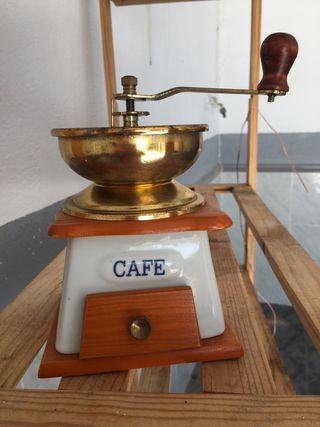 Molinillo café vintage decorativo