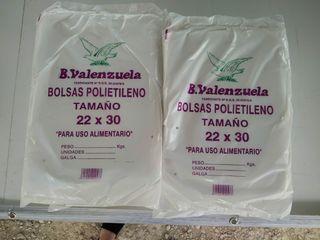 Bolsas de plástico 22x30