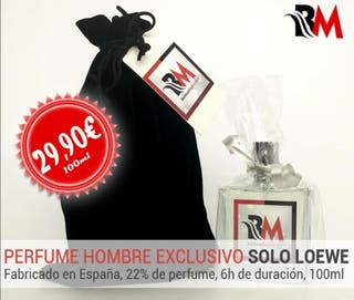 Perfume Nina Ricci y solo Loewe