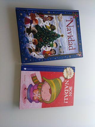 cuentos de Navidad y libro +CD nadales