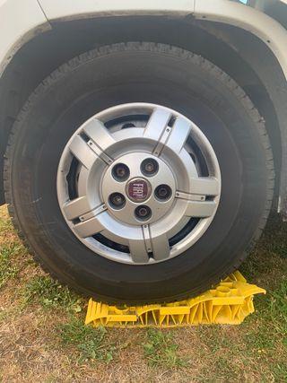 4 x Fiat Ducato Camper Steel Wheels