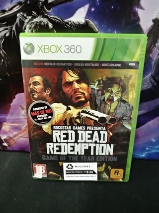 Xbox 360 - Red Dead Redemption GOTY (S)