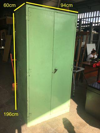 Armario metalico industrial color verde