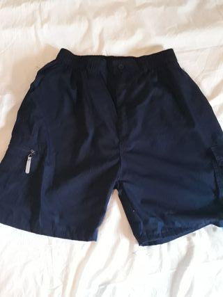 Pantalon corto hombre con bolsillos