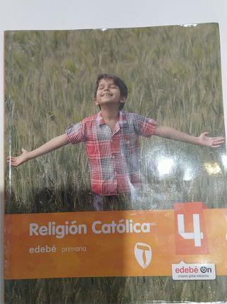 libro religion 4 primaria