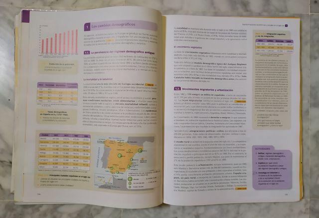 Libro Historia de España, 2° Bachillerato
