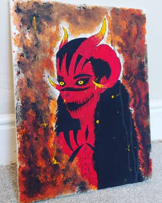 Demon Canvas