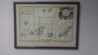 Cuadro Mapa Islas Canarias