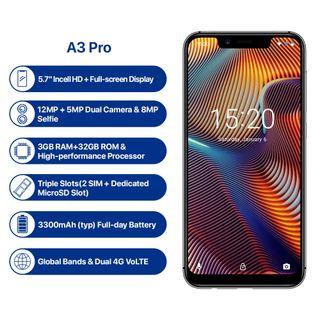 SMARTPHONE UMIDIGI A3 PRO, 32 GB, 3GB DE RAM NUEVO