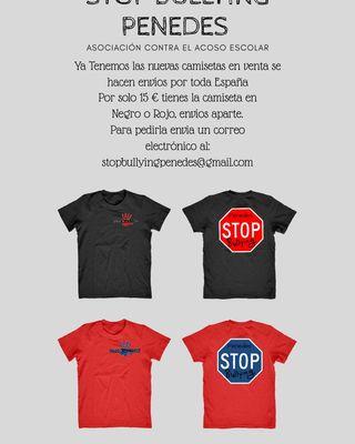 Camisetas Stop Bullying Penedes
