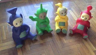 Teletubbies (4 muñecos) originales de la serie TV