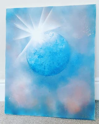 Water world Canvas