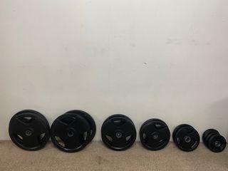 Discos pesas olímpicas
