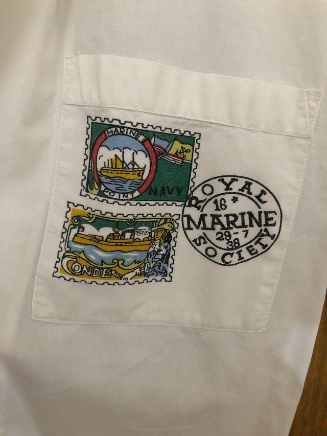 Camisa vintage royal marine