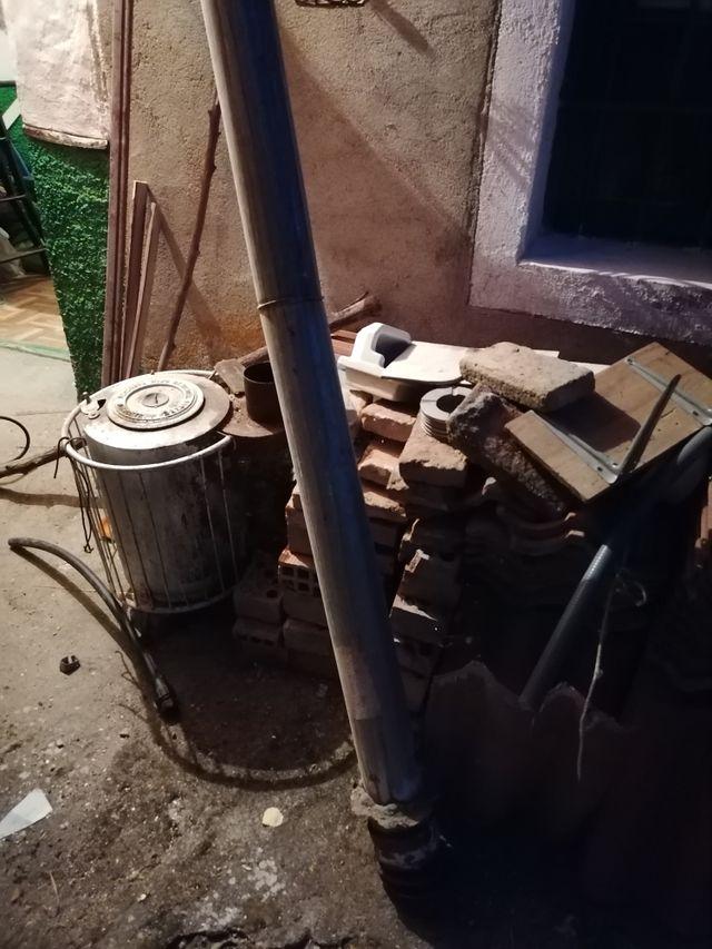 estufa de leña o carbón