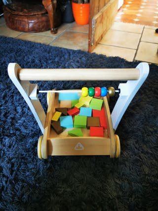 Early Learning Centre Wooden Baby Walker