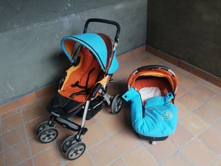 Conjunto silla paseo + capazo JANE NOMAD