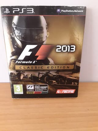 F1 2013 classic edition ps3