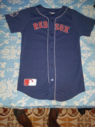 camiseta red sox