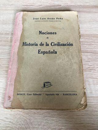 Nociones de historia de la civilización española